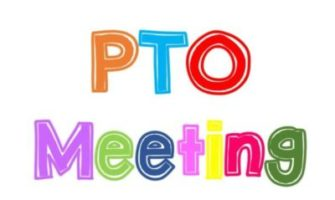 PTO Meeting October 1st at 7pm
